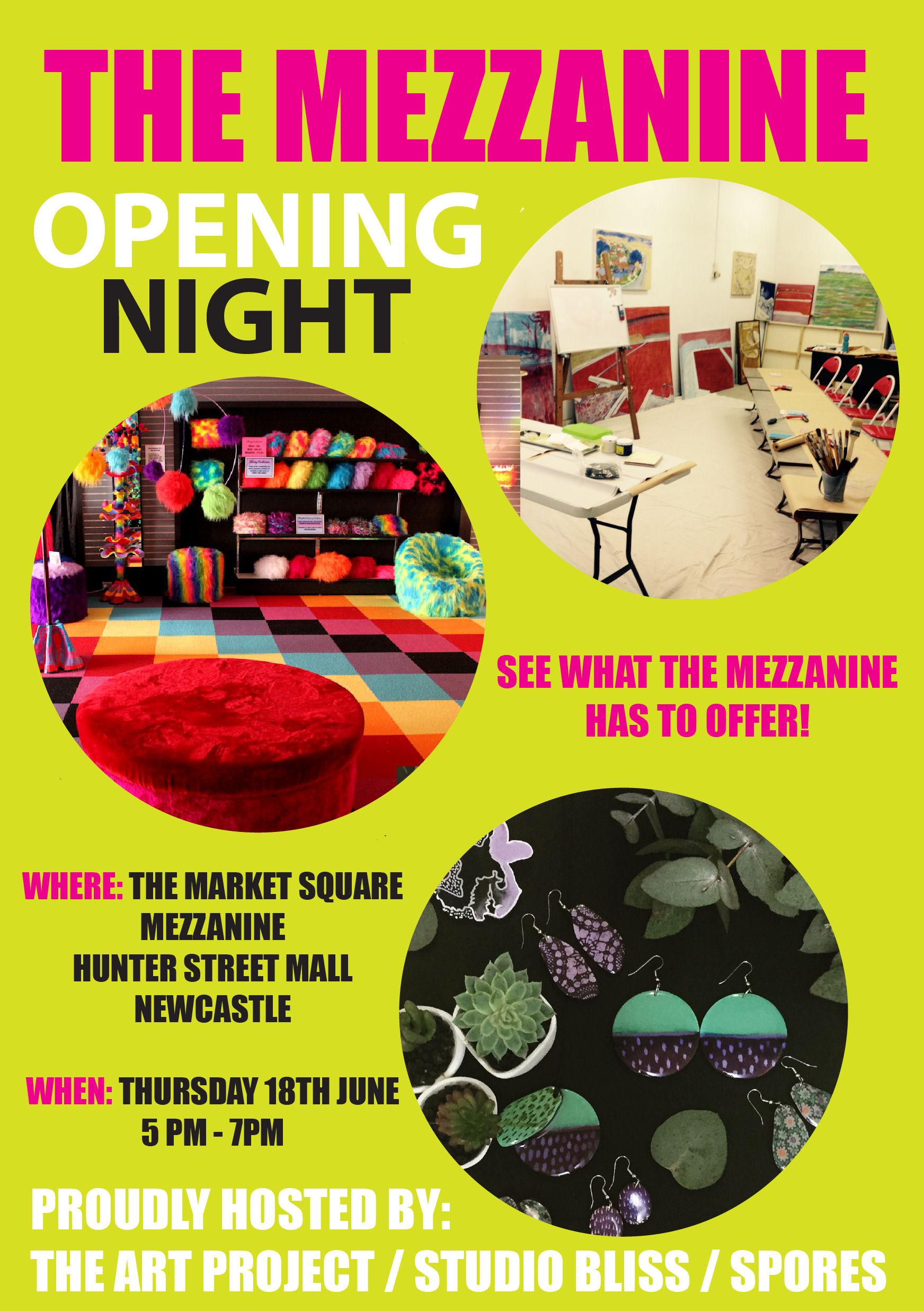 Mezzanine Opening Night